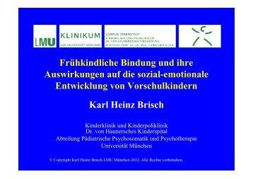 Copyright Karl Heinz Brisch LMU München 2012. Alle