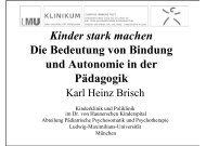 Kinder stark machen Die Bedeutung von Bindung und Autonomie in ...