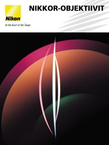 Objektiivin - Nikon