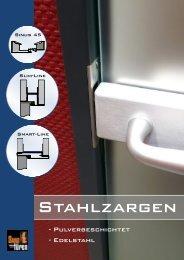 Stahlzargen - Sand Türen GmbH