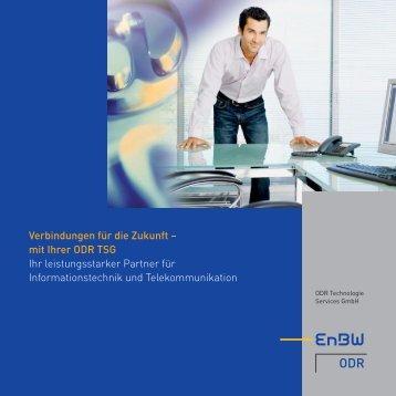 Imagebroschüre TSG - ODR Technologie Services GmbH - EnBW ...