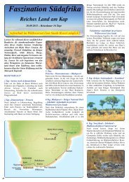 Faszination Südafrika Reiches Land am Kap