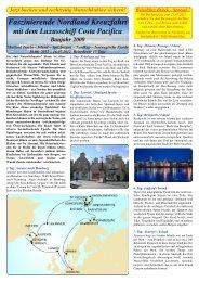 Faszinierende Nordland Kreuzfahrt - Reisebüro - Brück