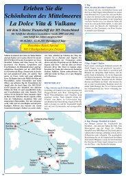 Erleben Sie die Schönheiten des Mittelmeeres ... - Reisebüro - Brück
