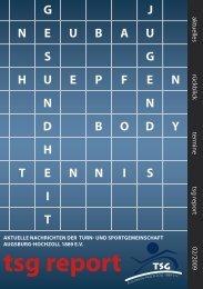 tsgreport0209.pdf (ca. 6,85MB) - TSG Augsburg-Hochzoll 1889 eV