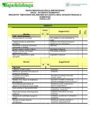 Scheda valutazione ambientale - Saluter