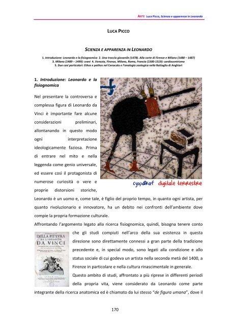 Scienza e apparenza in Leonardo - Scienzaefilosofia.It