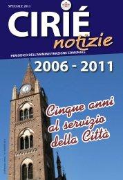 Speciale 2011 - Comune di Cirié