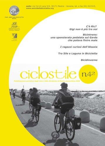 Ciclostile n. 42 - Amici della Bicicletta di Mestre