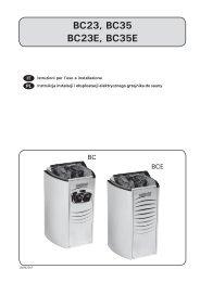 Vega Compact (BC, BCE) - Sauna-serwis.pl