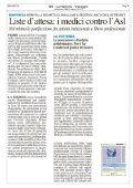 La Nazione - Liste d'attesa: medici contro l'Asl - Aaroi - Page 2