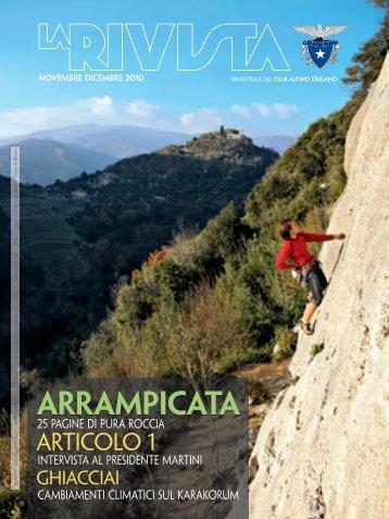 novembre dicembre - Club Alpino Italiano