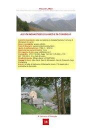 Valli di Lanzo - Regione Piemonte