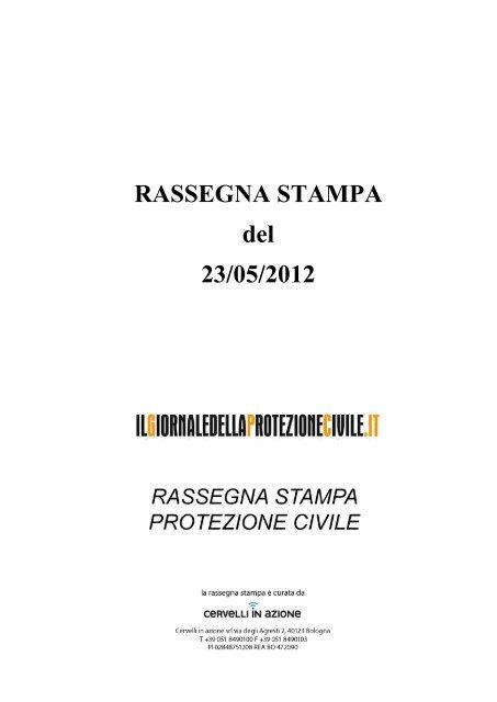 sports shoes d2259 1b9b6 Download rassegna stampa Protezione civile 23 maggio