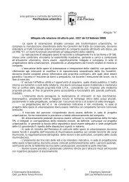 area gestione e controllo del territorio Pianificazione urbanistica ...