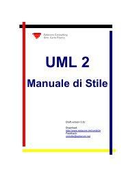 UML 2 Manuale di Stile - Il Corso di laurea in Informatica