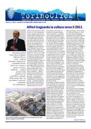 Alfieri traguarda la cultura verso il 2011 - Città di Torino