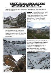 BIVACCO BATTAGLIONE ORTLES - Passione Trekking