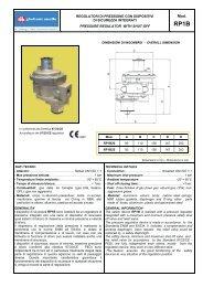 regolatori di pressione con dispositivi di sicurezza integrati pressure ...