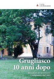 Bilancio di Mandato - Comune di Grugliasco