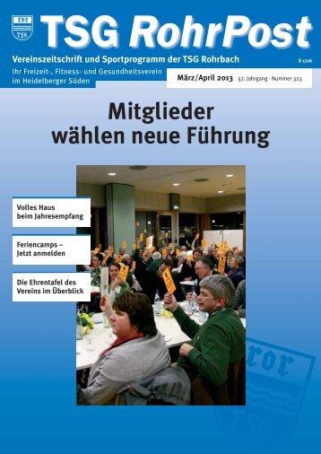 März/April 2013 - TSG Rohrbach