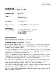 Afgørelse 2012-0177, 3. december 2012 - Ankenævnet for Bus, Tog ...