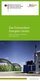 Das Erneuerbare-Energien-Gesetz (EEG) - BMELV