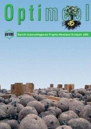 Bericht Ackerschlagkartei Prignitz-Wendland Erntejahr 2005