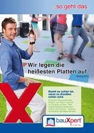 Der neue Flyer über Tiefbau / Terrasse gültig bis 30.06.2013