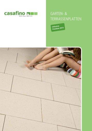 BST Casafino Garten-Terrassenplatten 2013