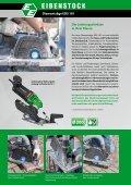 Diamantsäge EDS 181 für Nass- und Trockenschnitt - Eibenstock - Page 2