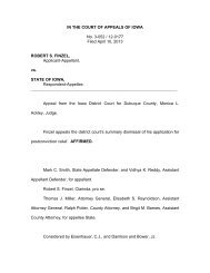 No. 3-052 / 12-0177 - Iowa Judicial Branch