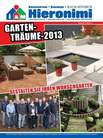 Garten-Beilage 2013 - Hieronimi.de