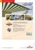 Awning fabrics for the highest demands - Page 4