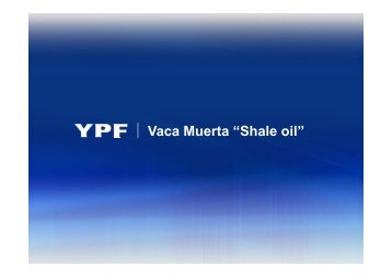 "Vaca Muerta ""Shale oil"" - Repsol"