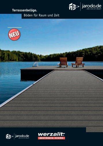 Terrassenfliesen - Terrassenplatten PASEO Broschüre - Jarodo