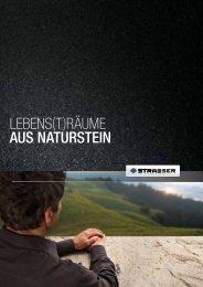 LEBENS(T)RÄUME AUS NATURSTEIN - Strasser Steine
