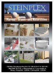 e stein p l - Steinplex, Marmor, Granit, Natursteine ...