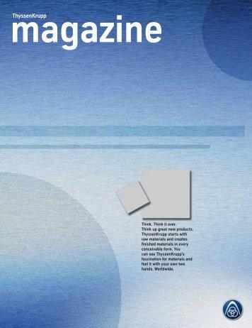 ThyssenKrupp Magazin