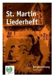 St. Martin Liederheft - bei der WiG!