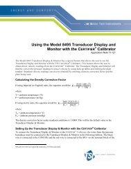 Application Note TI-121 - TSI