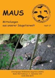 Heft 17  - Über die AGWS
