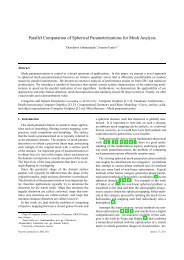 Parallel Computation of Spherical Parameterizations for Mesh ...