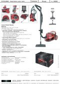 CYCLONE – Aspirateur pour sols 2400W Rouge - BOB HOME - Page 2