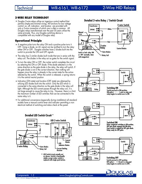 2-WIRE RELAY TECHNOLOGY on