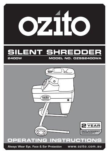 SILENT SHREDDER