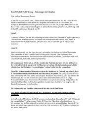 Betreff: Schülerbeförderung - Änderungen im ... - GGS-Overath