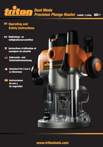 Dual Mode Precision Plunge Router - Home Depot