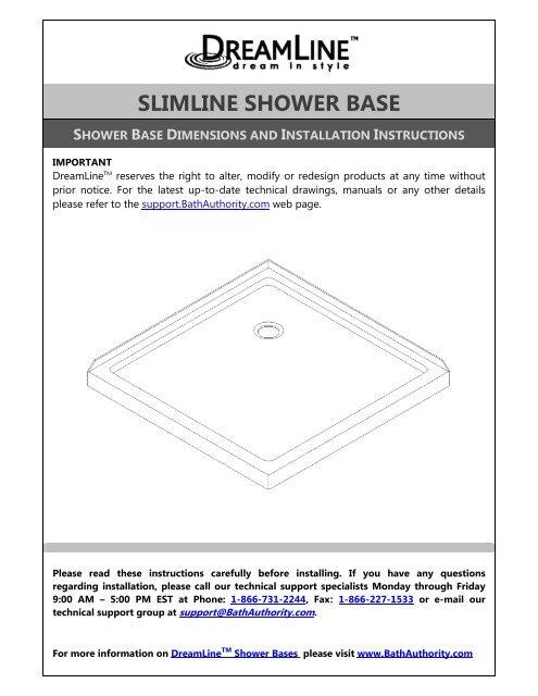Slimline Shower Base Home Depot