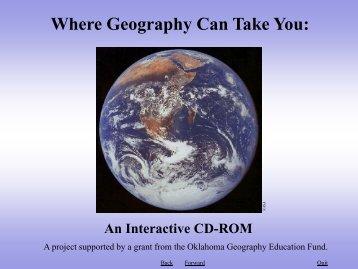 Human Geography - Oklahoma State University
